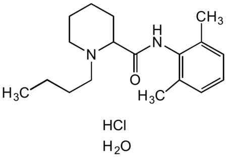 Bupivacaine hydrochloride monohydrate