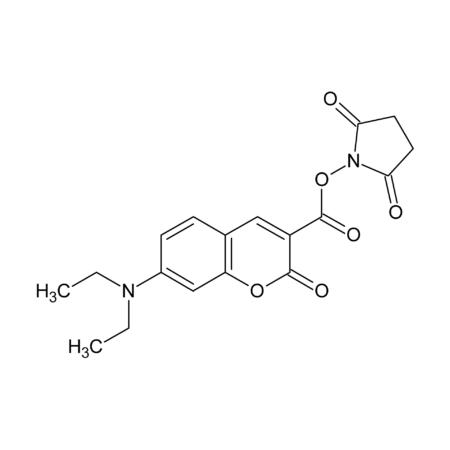 7-Diethylaminocoumarin-3-carboxylic acid N-succinimidyl ester