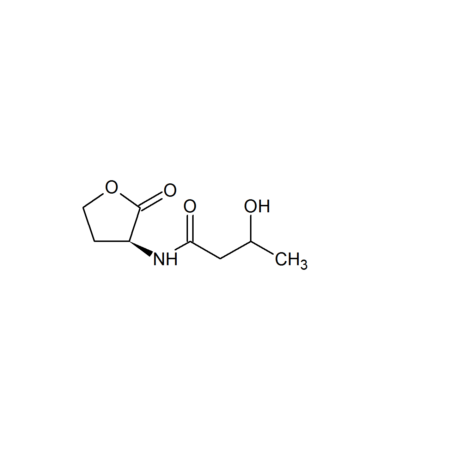 3-Hydroxy-butanoyl-L-homoserine lactone