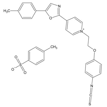 1-[2-(4-Isothiocyanatophenoxy)ethyl]-4-[5-(4-methoxyphenyl)-2-oxazolyl] pyridin