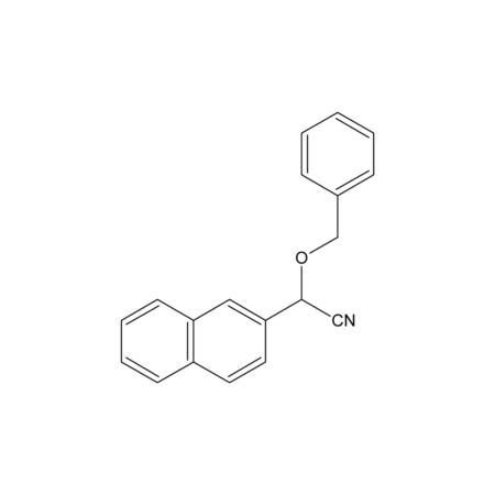 2-(2-Naphthyl)-2-(phenylmethoxy)-ethanenitrile