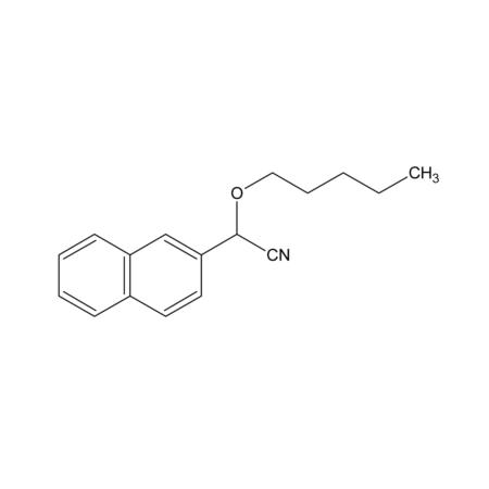 2-(2-Naphthyl)-2-pentyloxyethanenitrile