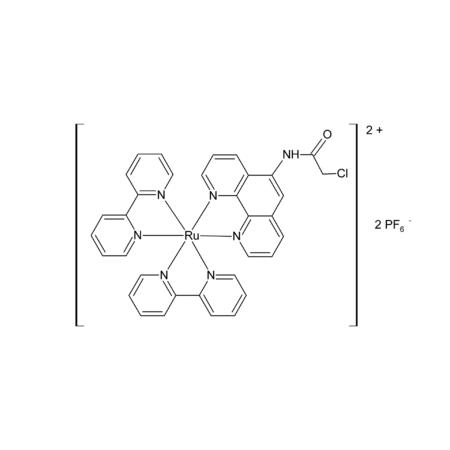 [Ru(bpy)2(5-chloroacetamido-1