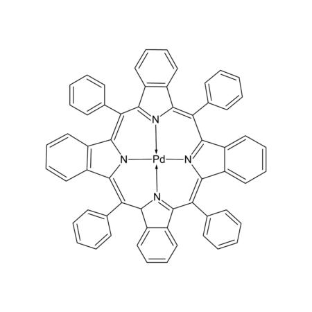 meso-Tetraphenyl-tetrabenzoporphine palladium complex